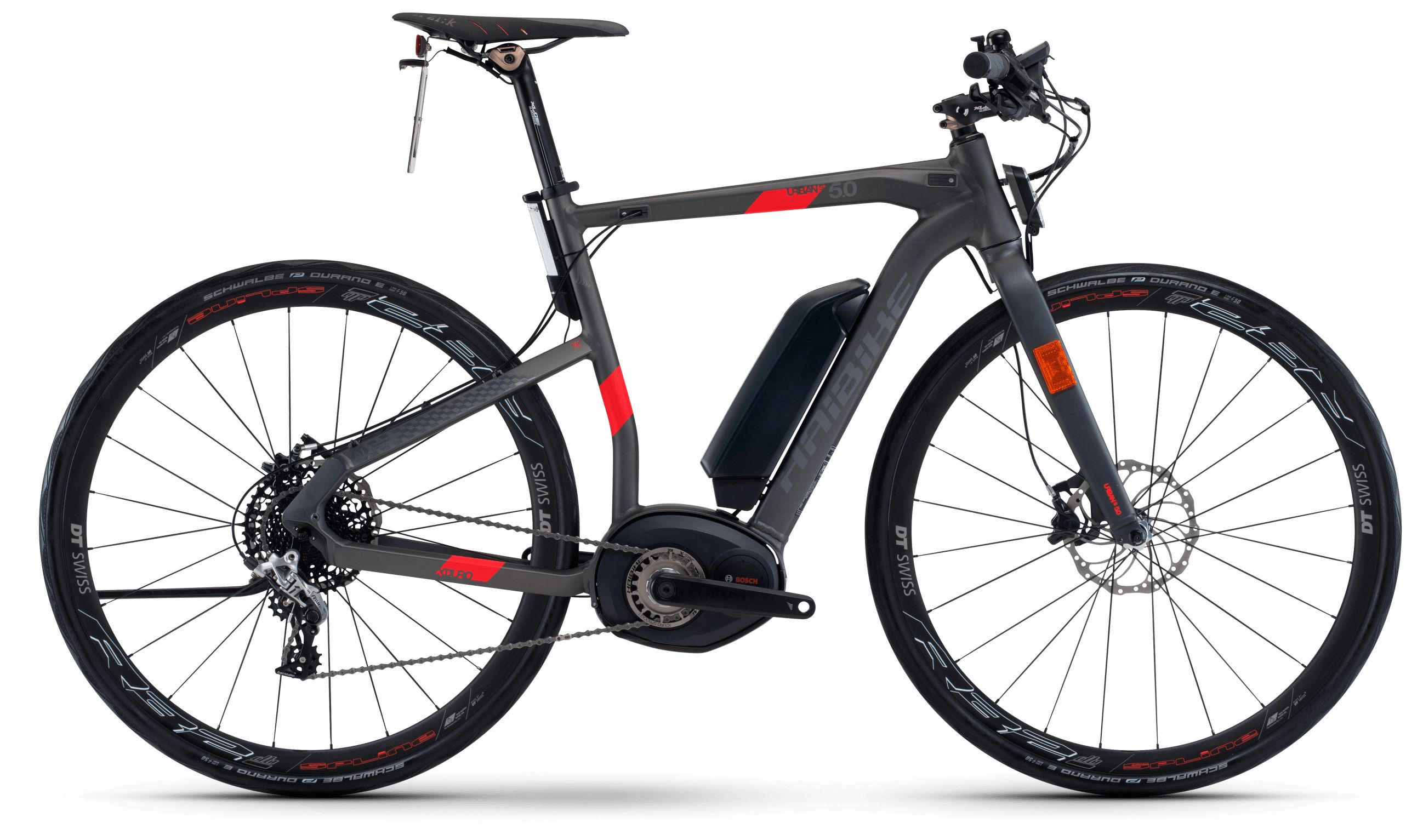 Велосипед Haibike Xduro Urban S 5.0 500Wh 11s Rival 2018