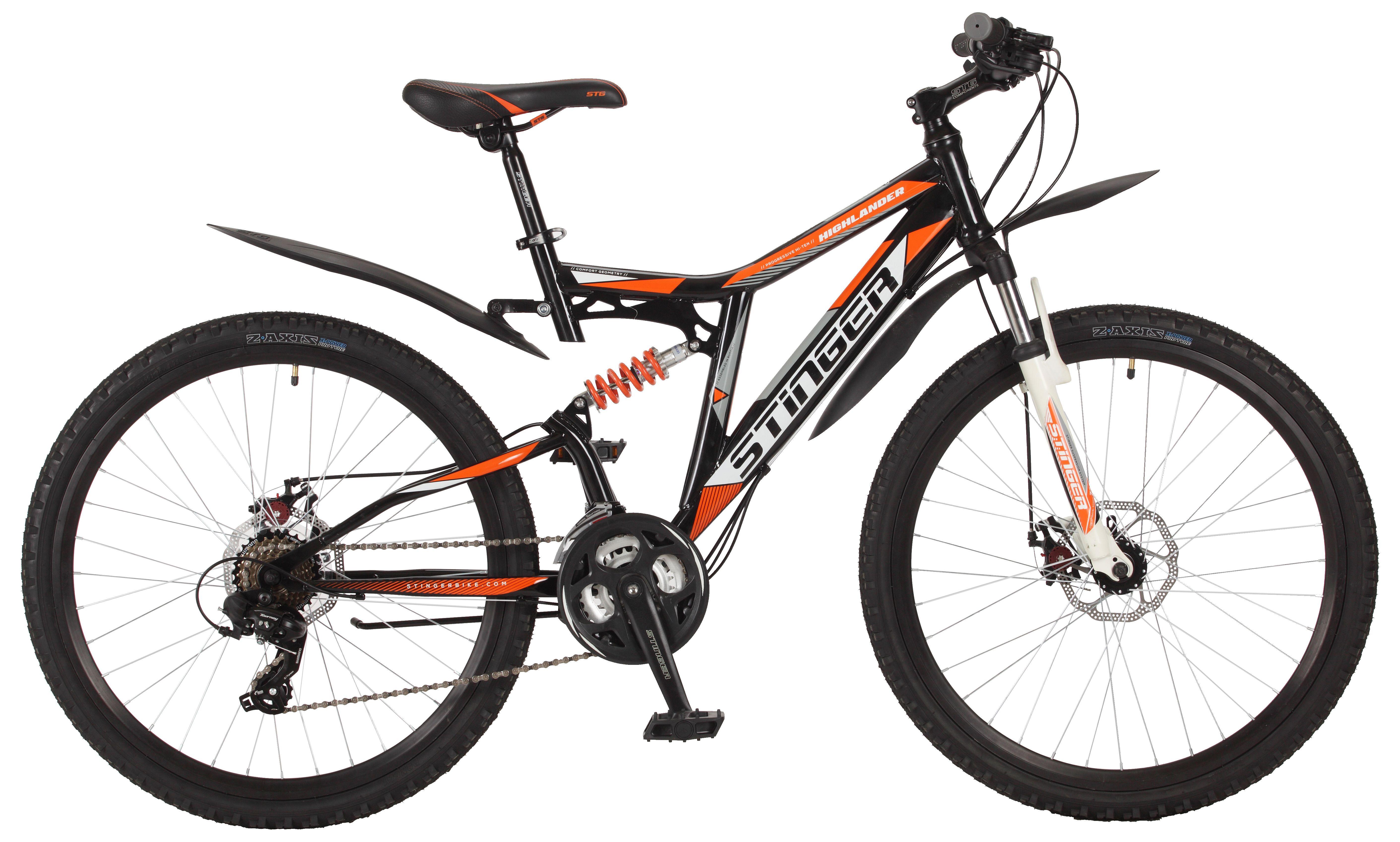 Велосипед Stinger Highlander 200D 26 2017