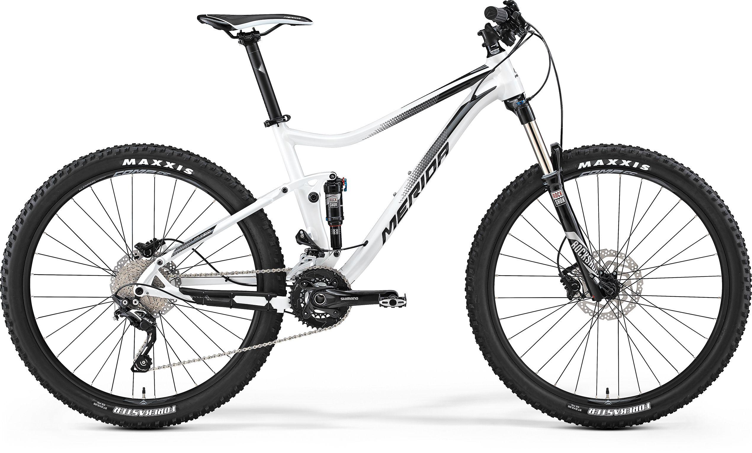 Велосипед Merida One-Twenty 7.600 2017,  Двухподвесы  - артикул:274467