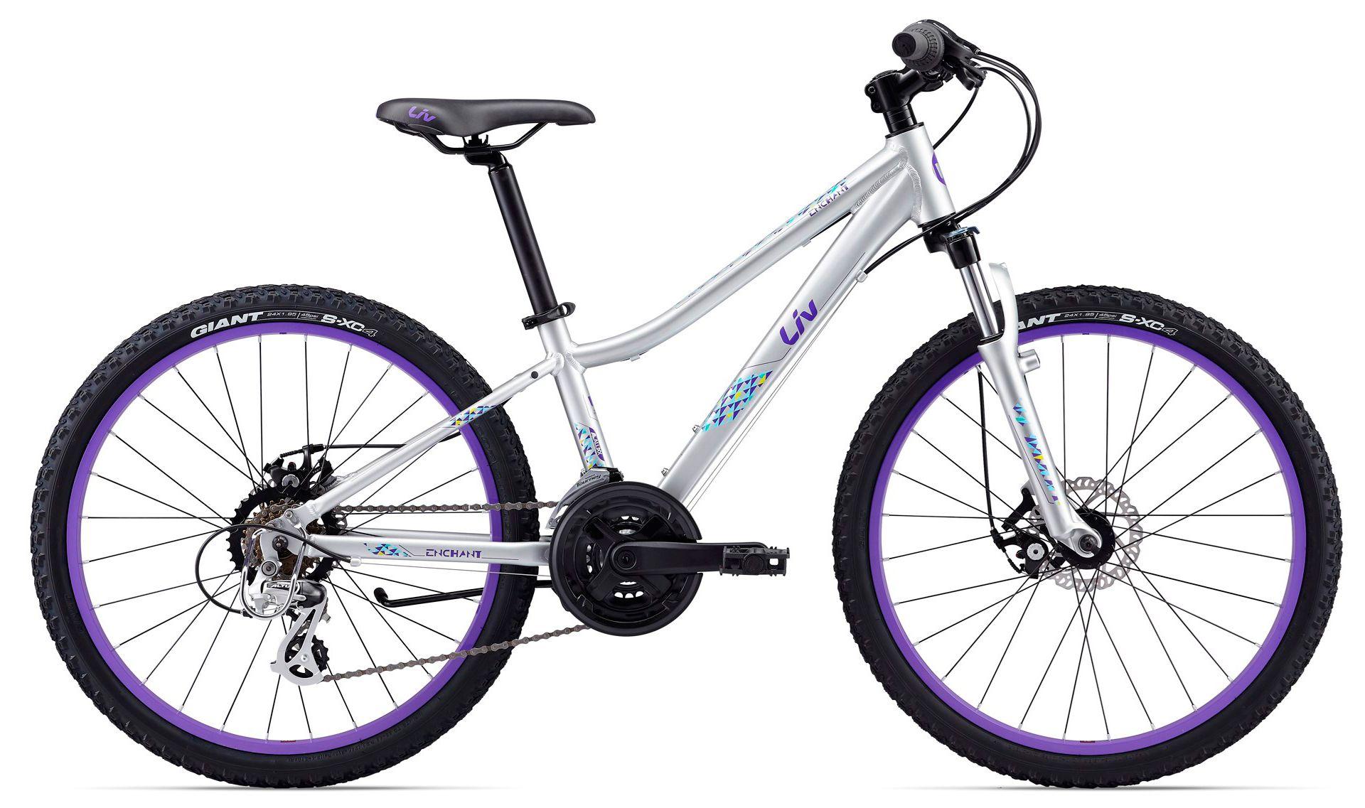 Велосипед Giant Enchant 1 24 Disc 2017 велосипед giant enchant 1 2016