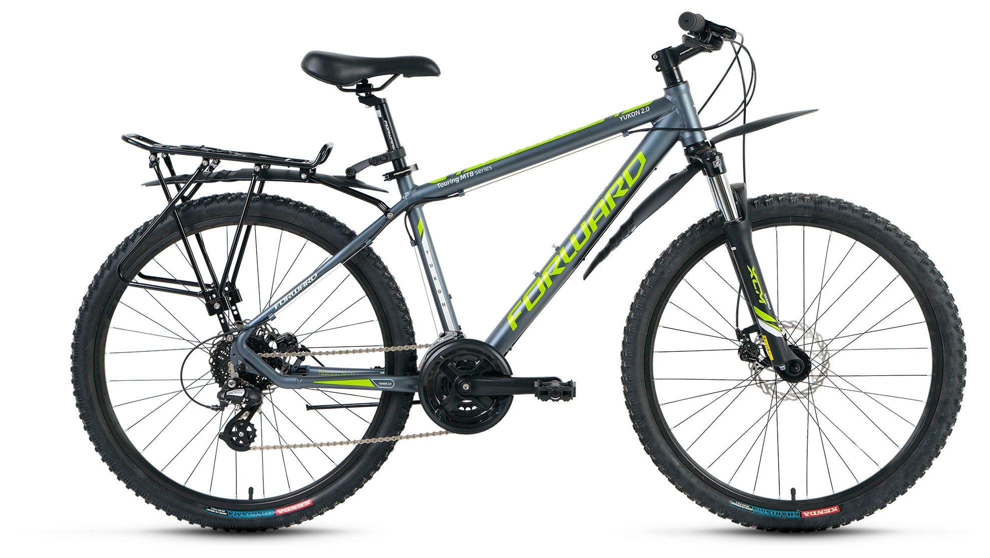 Велосипед Forward Yukon 2.0 disc 2016