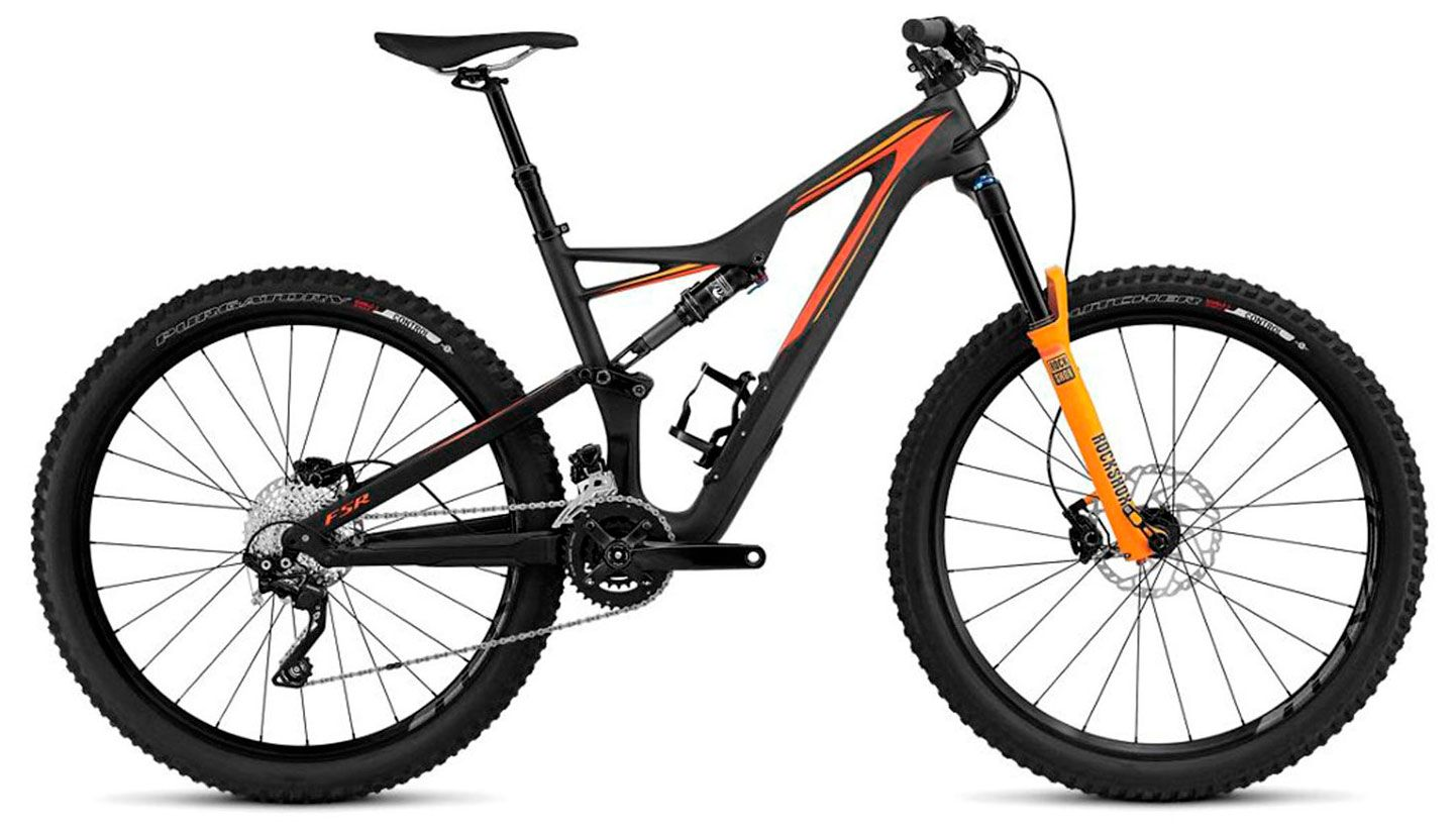 Велосипед Specialized Stumpjumper FSR Comp Carbon 650B 2016 велосипед specialized ruby sport 2016