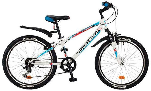 Велосипед Novatrack Extreme 24 2017 велосипед novatrack extreme 24 сталь рама 12 белый скоростей 6 v brake