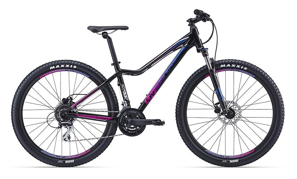 Велосипед GiantЖенские<br>Специально для девушек, которые следят за своим здоровьем и фигурой, компания Giant изготовила легкую и стильную модель Tempt 4 2016. Этот велосипед отлично справится как с комфортными велопрогулками по городу, так и со спортивными велозаездами по пересеченной местности. Рама имеет специальную заниженную геометрию и изготовлена из алюминиевого сплава. Амортизационная вилка SR Suntour XCT HLO 27.5 поможет сохранить управление даже на сильно разбитых дорогах. Навесное оборудование Shimano относится к классу любительского.<br><br>year: 2016<br>цвет: белый<br>пол: женский<br>тип рамы: хардтейл<br>уровень оборудования: любительский<br>длина хода вилки: до 100 мм<br>тип заднего амортизатора: без амортизатора<br>блокировка амортизатора: да<br>вынос: Giant Sport<br>руль: Giant Connect XC, 31.8 мм<br>передний тормоз: Tektro HDC 291, диаметр ротора 160 мм<br>задний тормоз: Tektro HDC 291, диаметр ротора 160 мм<br>тормозные ручки: Tektro HDC 291<br>цепь: KMC Z8<br>система: SR Suntour NEX, 24/34/42<br>каретка: SR Suntour Cartridge BB<br>педали: MTB Caged, 9/16<br>ободья: Giant CR70 27.5, алюминиевый сплав 6061, с двойной стенкой<br>передняя втулка: Giant Tracker Sport, QR<br>задняя втулка: Giant Tracker Sport, QR<br>спицы: 14g нержавеющая сталь<br>передняя покрышка: Maxxis Ikon, 27.5 x 2.2<br>задняя покрышка: Maxxis Ikon, 27.5 x 2.2<br>седло: Liv Connect, Upright<br>подседельный штырь: Giant Sport<br>кассета: Shimano HG31, 11-34, 8 скоростей<br>манетки: Shimano Altus, 3x8 скоростей<br>рама: Алюминиевый сплав, ALUXX-Grade Butted<br>вилка: SR Suntour XCT HLO 27.5, lockout, ход 100 мм<br>размер рамы: 16&amp;amp;quot;<br>материал рамы: алюминий<br>тип тормозов: дисковый гидравлический<br>диаметр колеса: 27.5<br>тип амортизированной вилки: пружинная<br>передний переключатель: Shimano Altus<br>задний переключатель: Shimano Acera<br>количество скоростей: 24