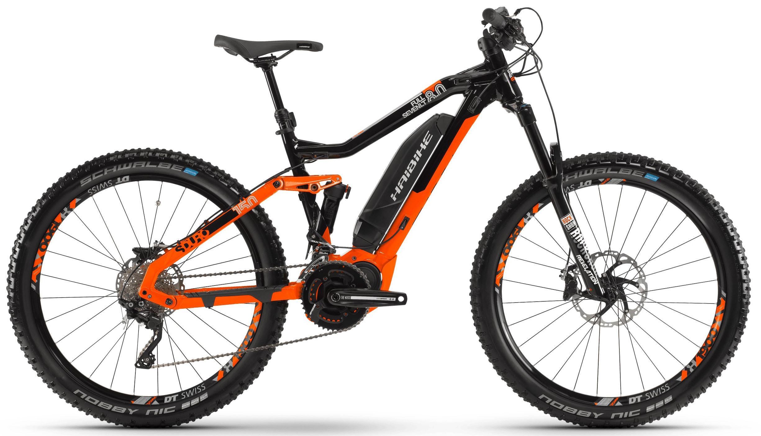 Велосипед Haibike SDURO FullSeven LT 8.0 500Wh 20-G XT 2019 велосипед haibike sduro hardnine 4 0 500wh 10 g deore 2019