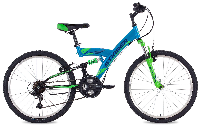 Велосипед Stinger Banzai 24 2018 stinger banzai 18 2016 х72830 к blue red