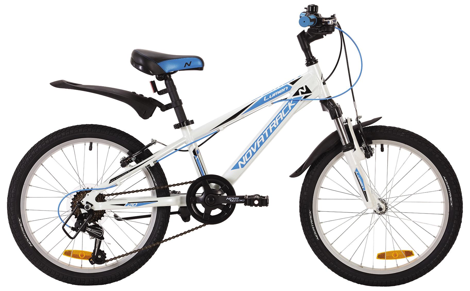 Велосипед Novatrack Lumen 20 2019 велосипед novatrack 16 зебра бордово белый 165 zebra clr6