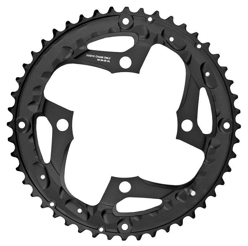 Запчасть Shimano передняя SLX, для FC-M670, 48T шифтер для велосипеда shimano deore slx m670 левый 2 3 скоростей без упаковки kslm670lb