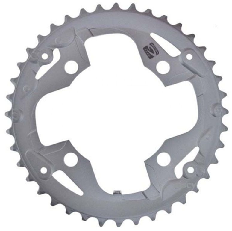 Запчасть Shimano передняя FC-M4000/M3000, 40T-AN fouriers cr dx004 cnc single chain ring bike bicycle chainrings sprocket 40t 42t for 10s shimano b c d 104mm