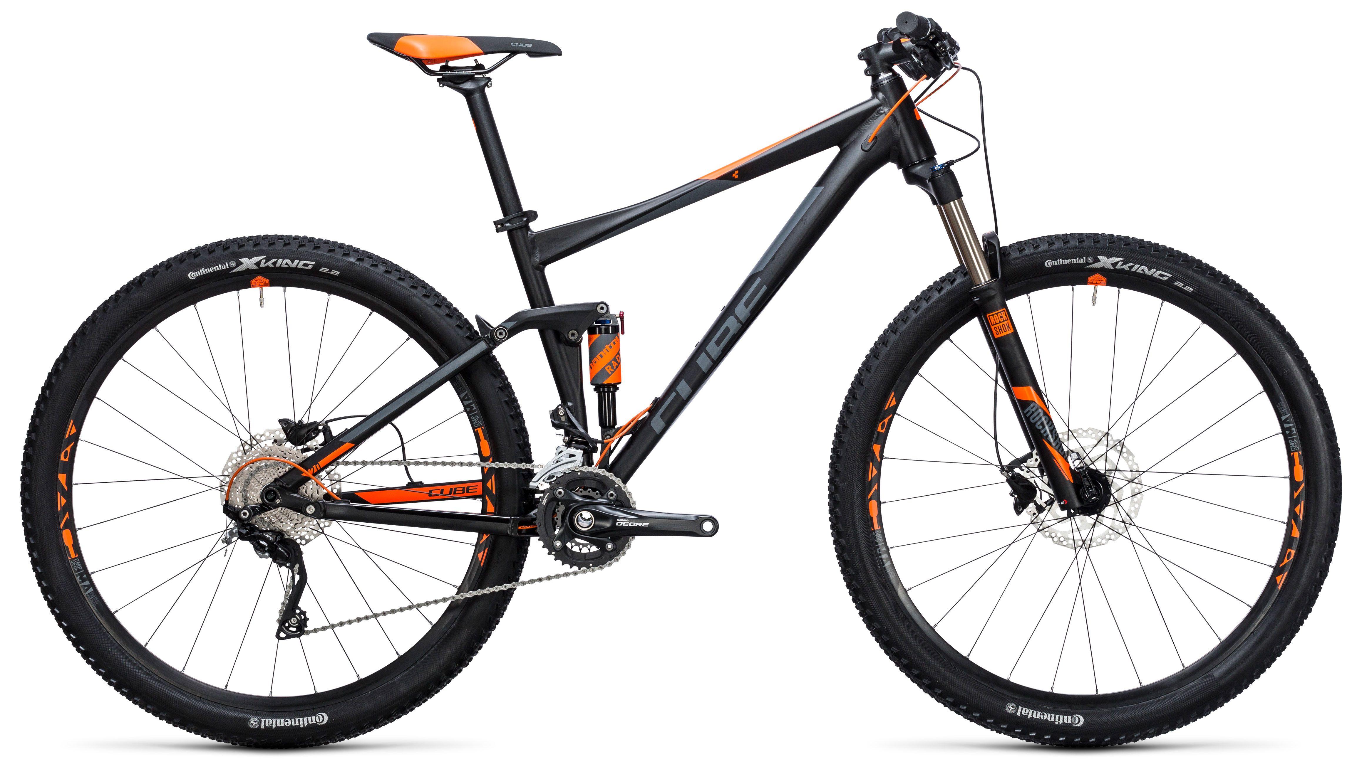 Велосипед Cube Stereo 120 HPA PRO 29 2017,  Двухподвесы  - артикул:273172