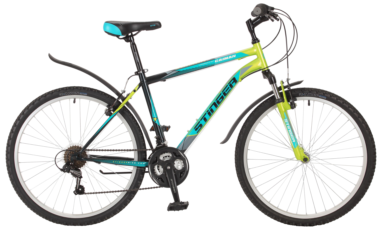 Велосипед Stinger Caiman 26 2017 велосипед stinger caiman 26 2017
