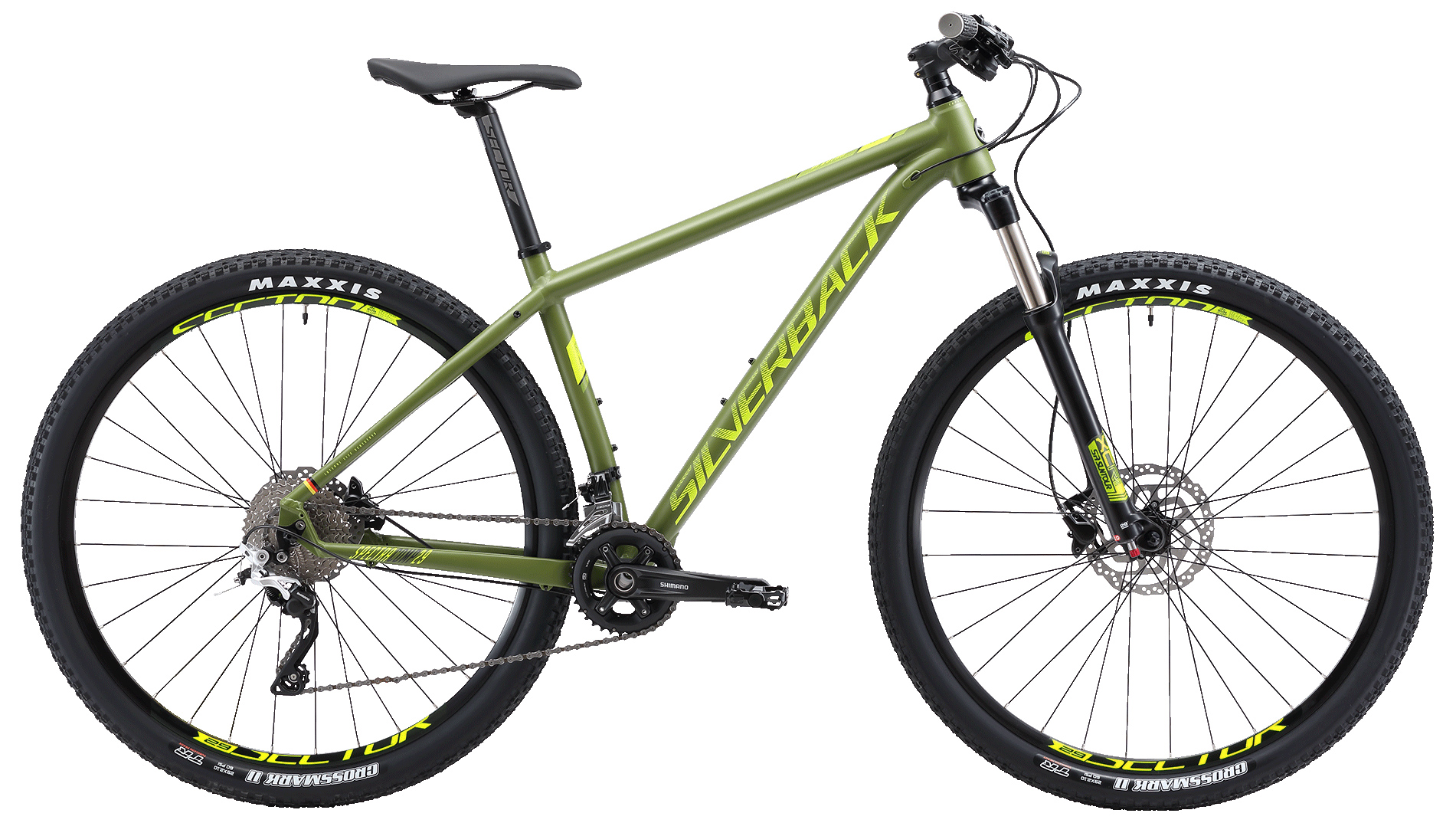 Велосипед Silverback Spectra Comp SE 2019 tall dark and texan