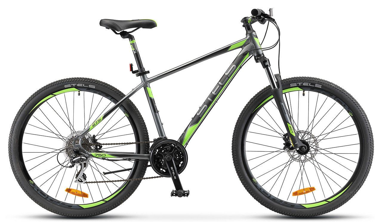 Велосипед Stels Navigator 750 D 27.5 V010 2018 велосипед stels challenger v 2016
