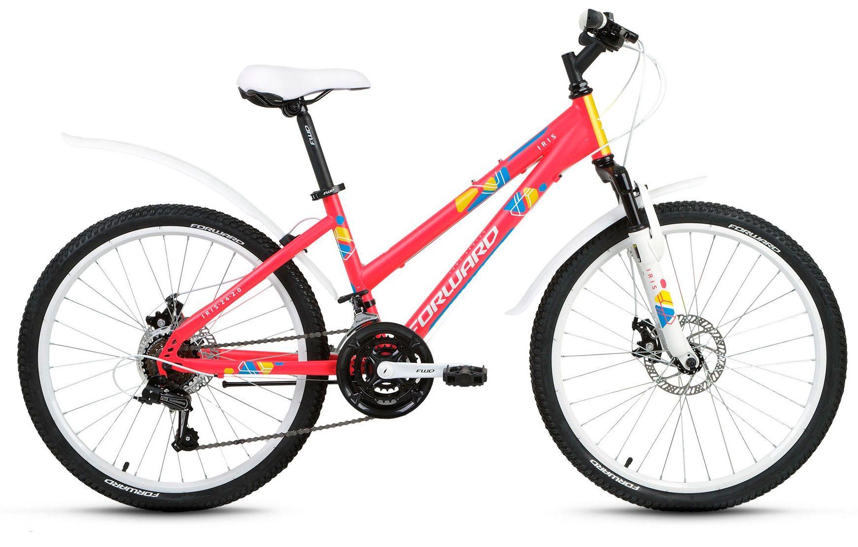 Велосипед Forward Iris 24 2.0 disc 2018 велосипед forward next 2 0 disc 2016
