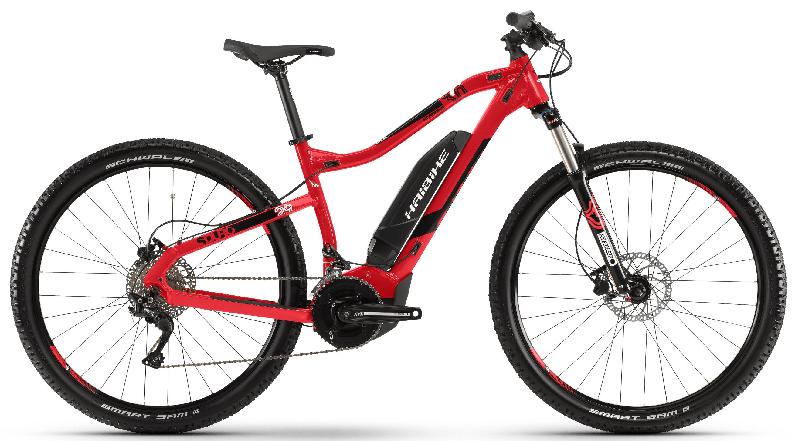Велосипед Haibike SDURO HardNine 3.0 500Wh 20-G Deore 2019 велосипед haibike sduro trekking 4 0 he 400wh 10s deore 2018