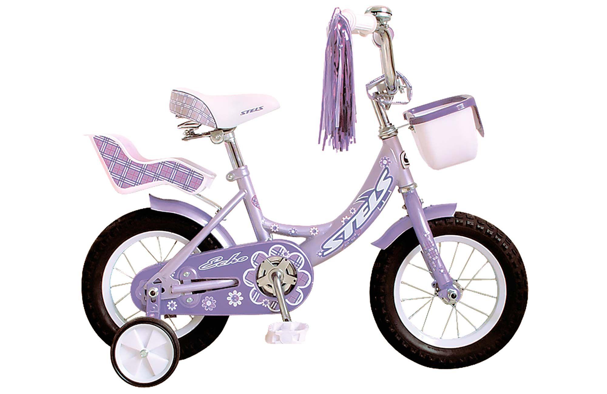 Велосипед Stels Echo 12 2017 детский велосипед для девочек stels echo 8 2016 pink