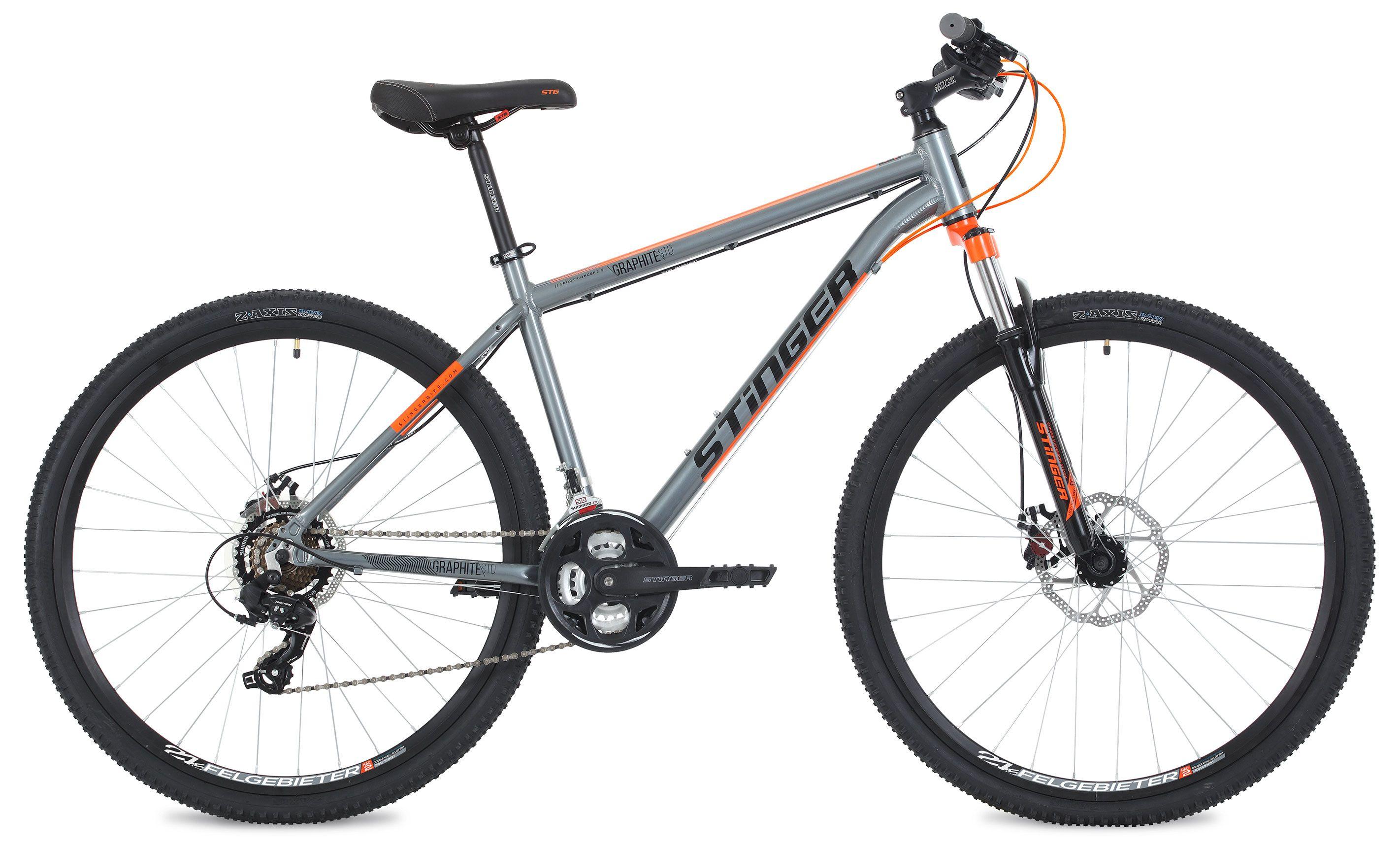 Велосипед Stinger Graphite Std 27,5 2018 вилка apex forks zero std silver