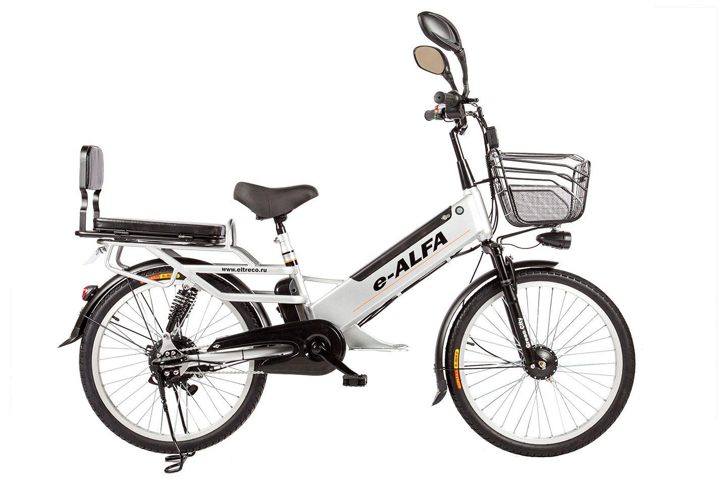 Велосипед Eltreco e-Alfa GL 2018 велосипед eltreco jazz 350w 2016