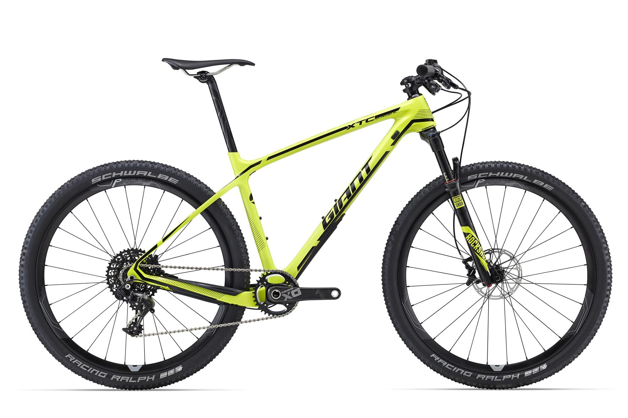 Велосипед Giant XtC Advanced SL 27.5 1 2016 giant xtc advanced 27 5 3 2016 comp yellow