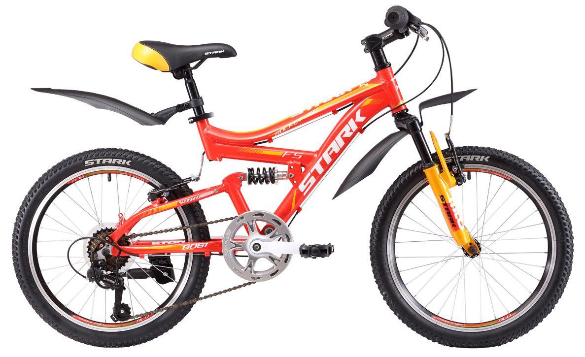 Велосипед Stark Rocket 20.1 FS V 2017 велосипед challenger mission lux fs 26 черно красный 16