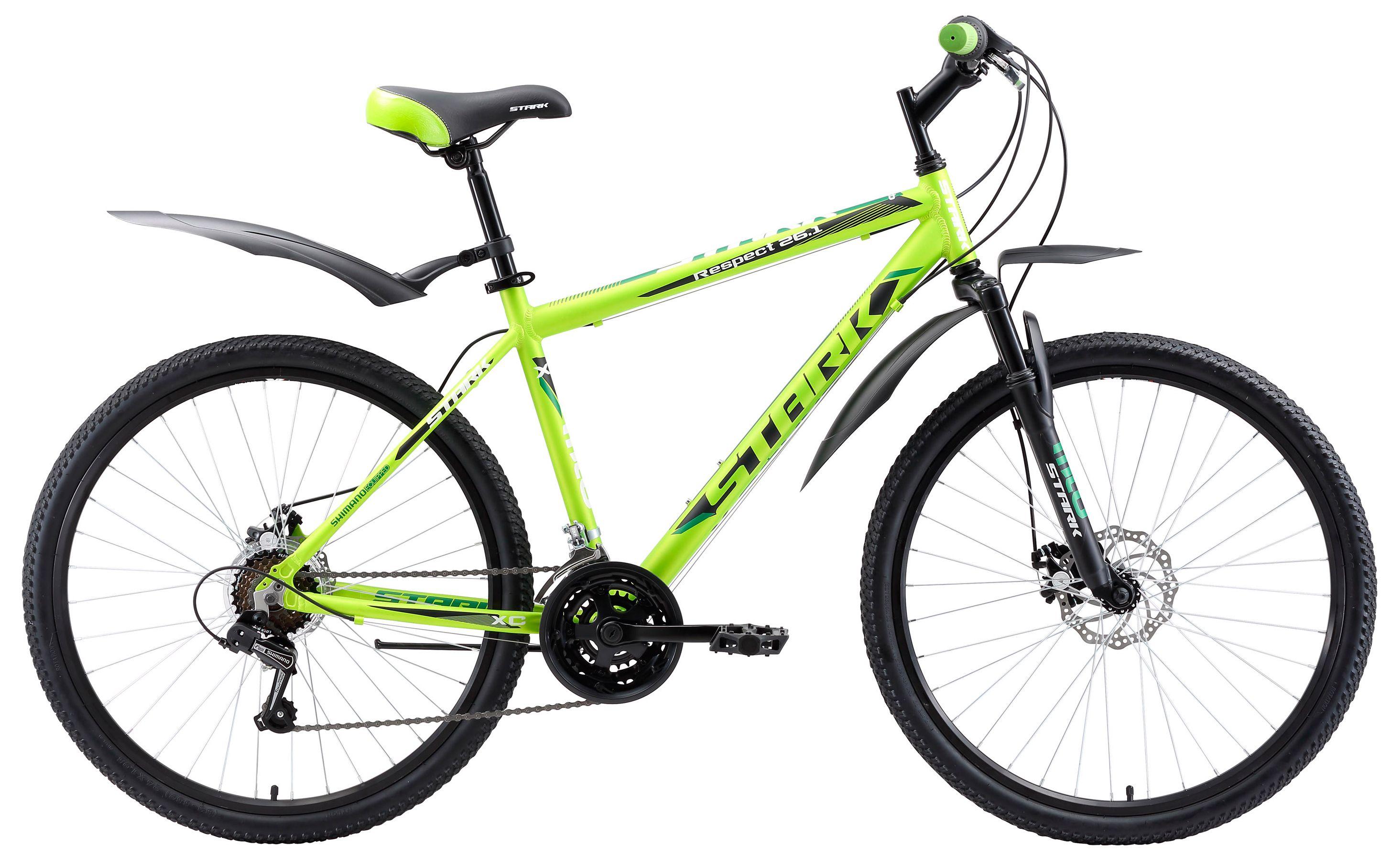 Велосипед Stark Respect 26.1 D 2017 stark велосипед stark tank 26 1 d 2017 сине оранжевый 18