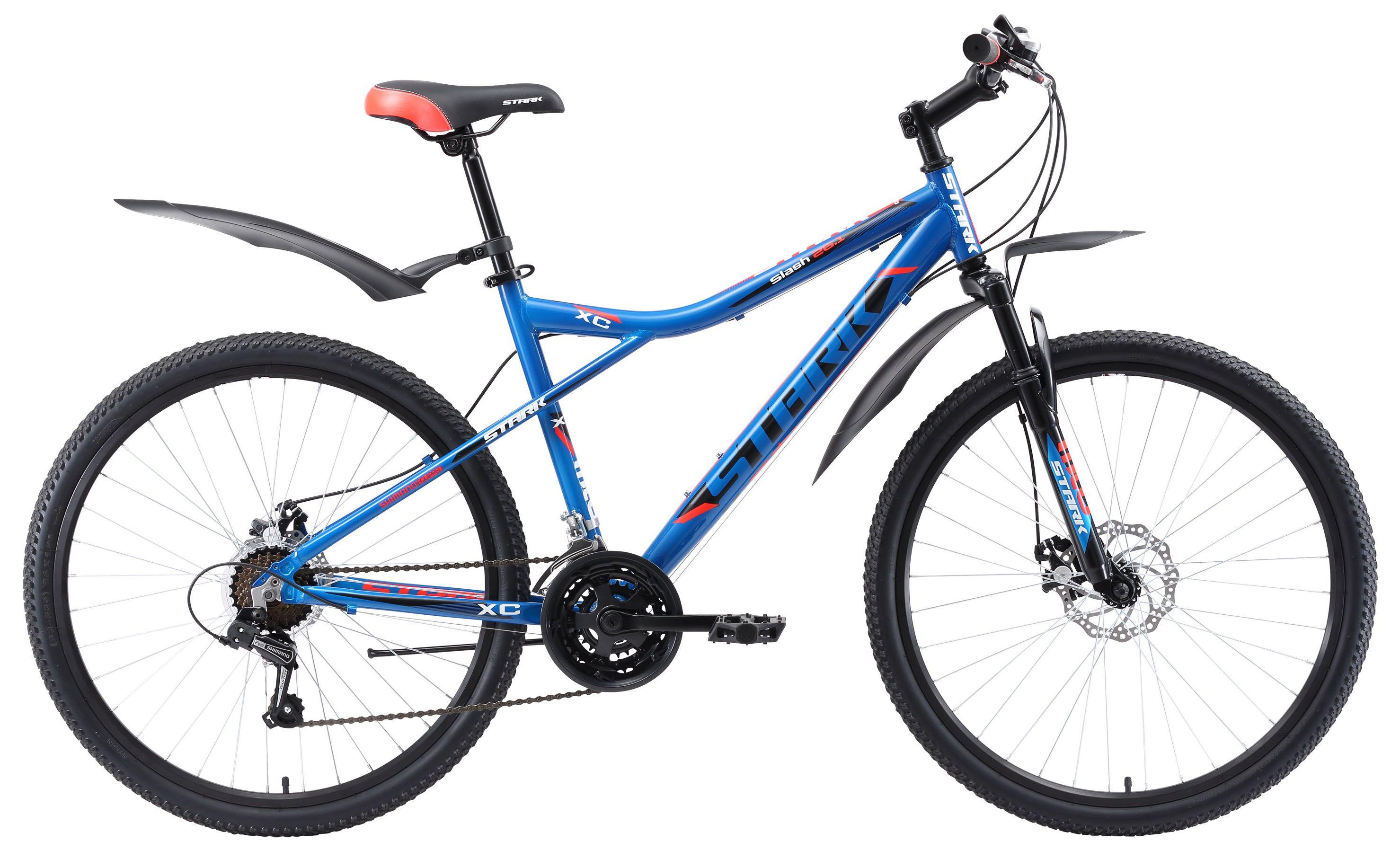 Велосипед Stark Slash 26.1 D 2018 stark велосипед stark tank 26 1 d 2017 сине оранжевый 18
