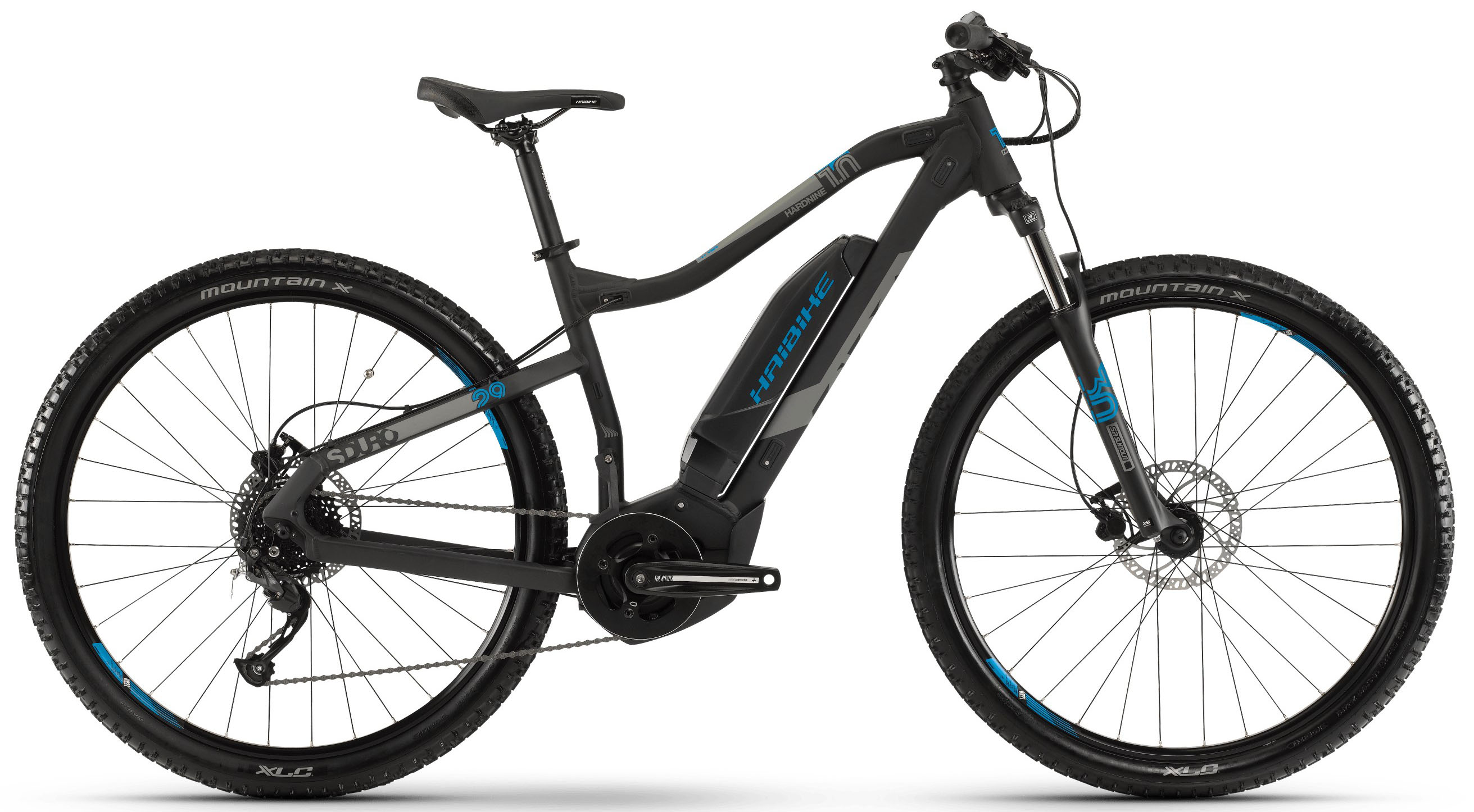 Велосипед Haibike SDURO HardNine 1.0 400Wh 9-G Altus 2019 велосипед haibike sduro trekking 4 0 he 400wh 10s deore 2018