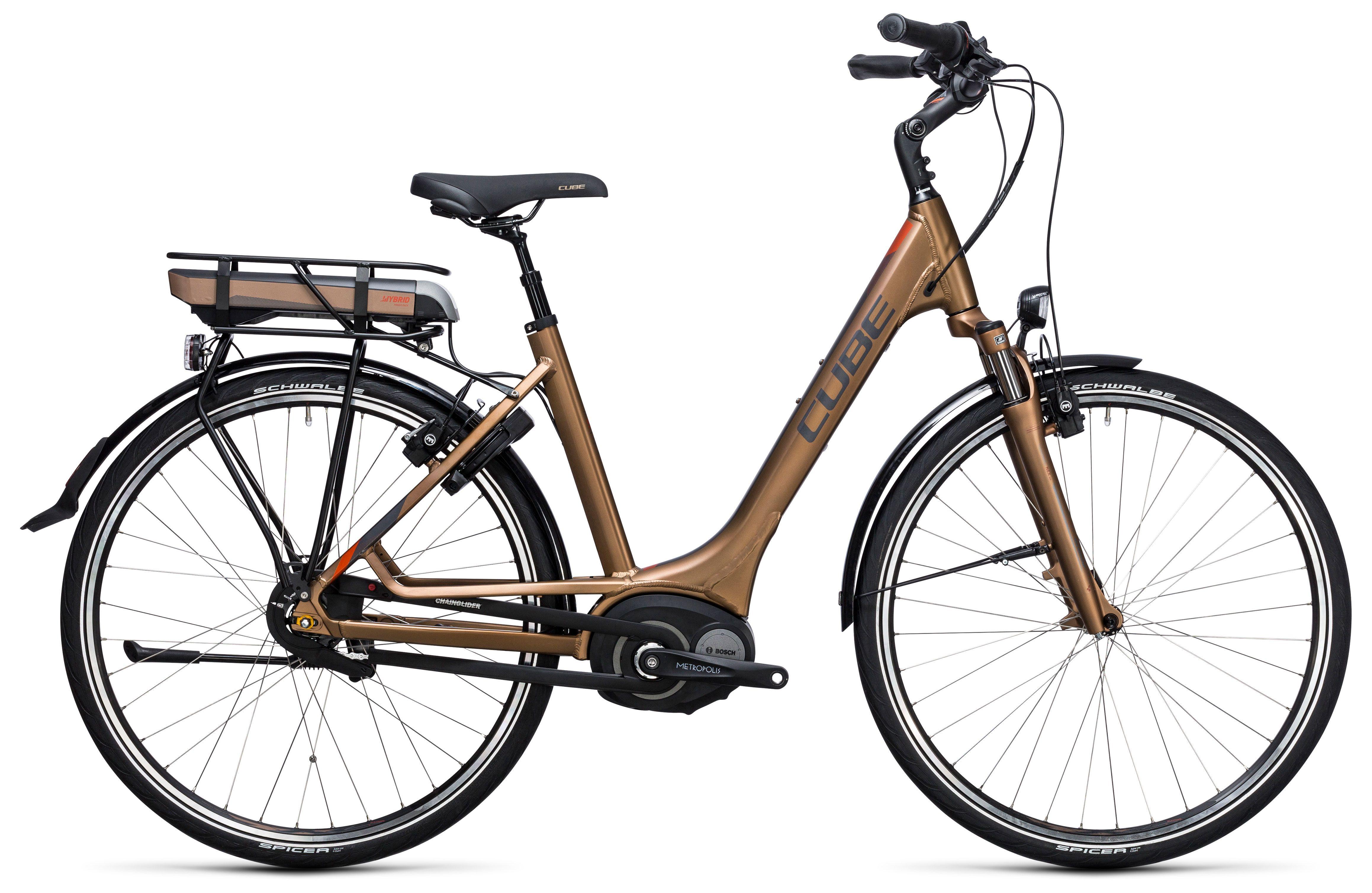 Велосипед Cube Travel Hybrid 500 Easy Entry 2017,  Электро  - артикул:274294