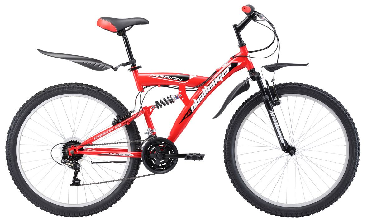 Велосипед Challanger Mission FS 26 2017 велосипед challenger mission lux fs 26 черно синий 16