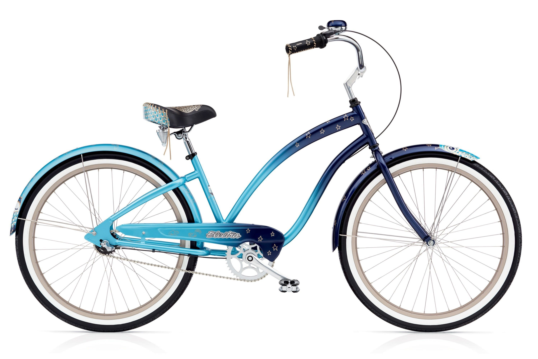 Велосипед Electra Cruiser Night Owl 3i Ladies 2017 велосипед electra cruiser daisy 3i ladies 2015