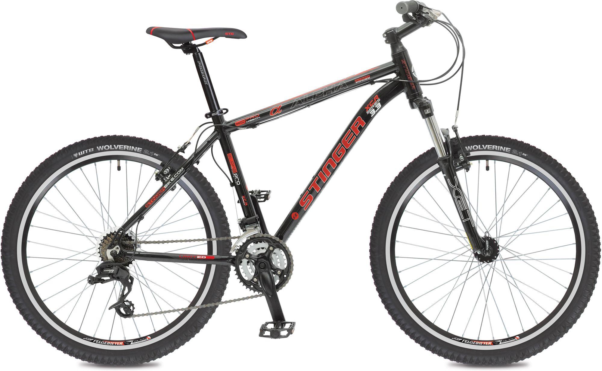 Велосипед Stinger Alpha 3,3 2016 stinger alpha 3 5 26