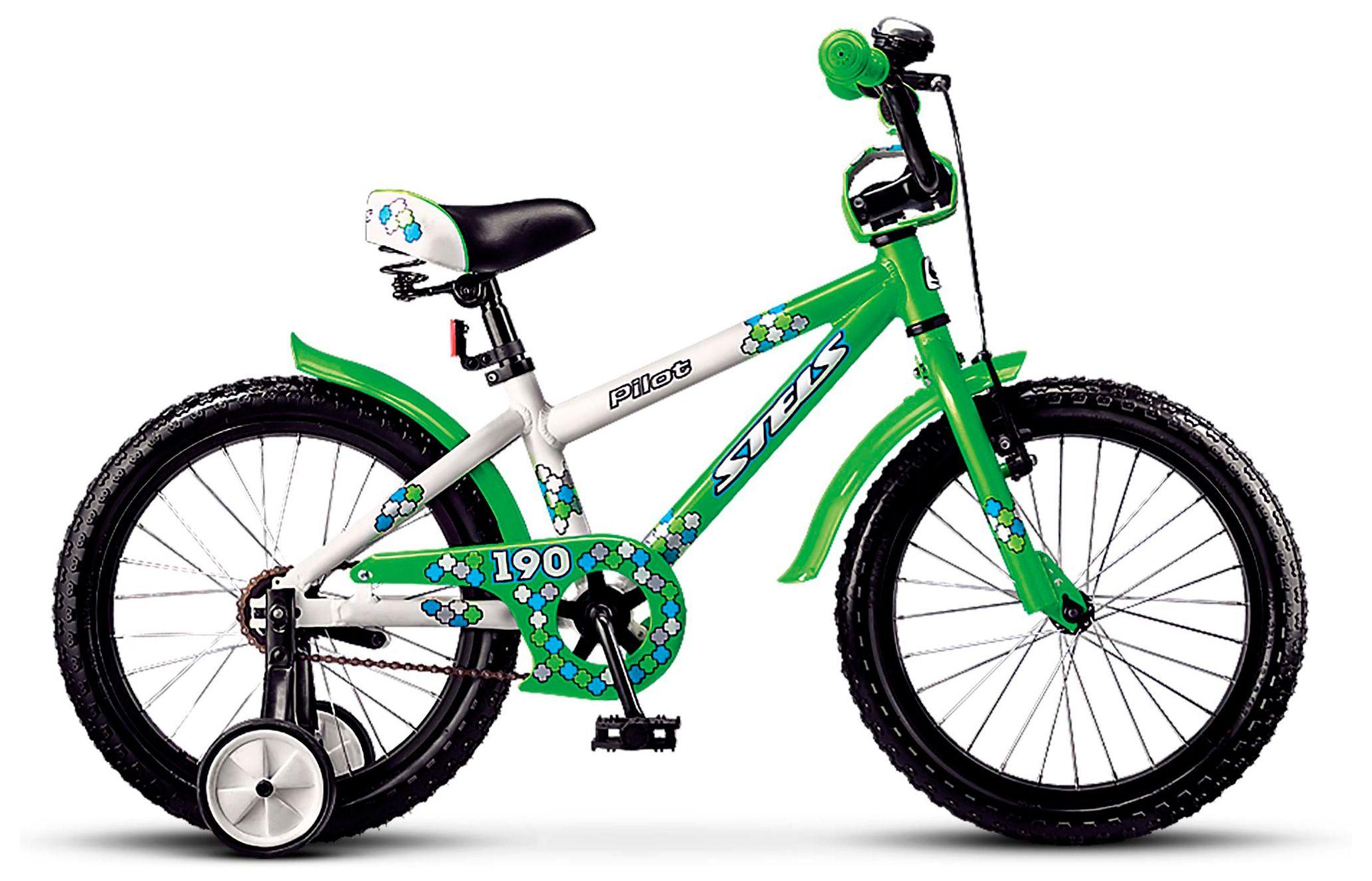 Велосипед Stels Pilot 180 16 2017 stels pilot 710 24 рама 16 белый синий