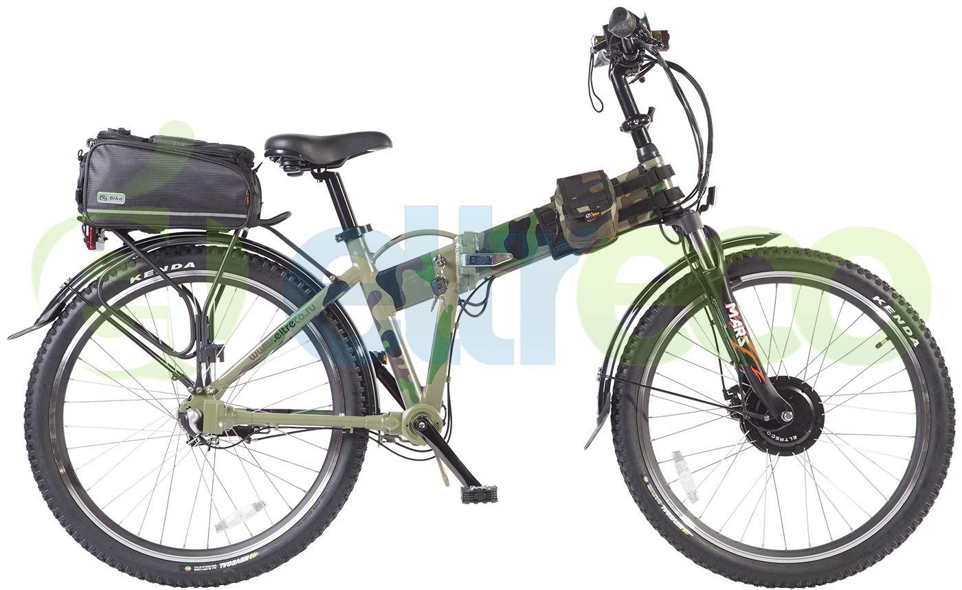 Велосипед Eltreco Patrol Кардан 26 Lux 2016,  Электро  - артикул:267894