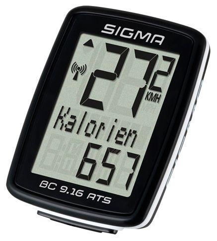 Аксессуар SIGMA BC 9.16 ATS Topline, 9 функций,  велокомпьютеры  - артикул:282617