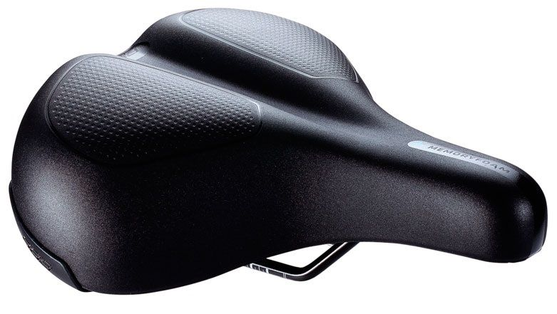 Запчасть BBB BSD-106 ComfortPlus Upright saddle memory foam steel rail 230