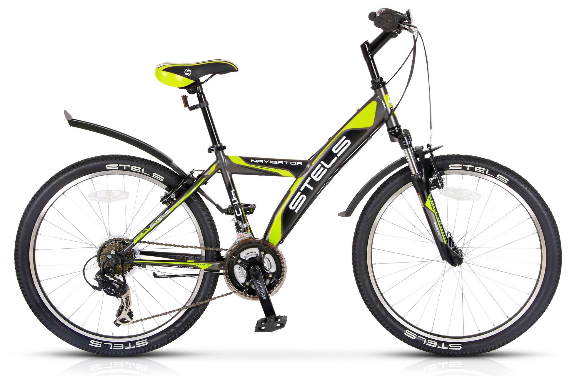 Велосипед Stels Navigator 410 V 24 18-sp (V030) 2018 stels велосипед navigator 24