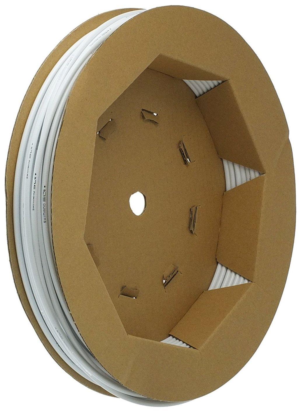 Запчасть Shimano оплетка троса тормоза SLR (Y80900015) оплетка тормоза shimano slr 40м в коробке цвет желтый y80900018