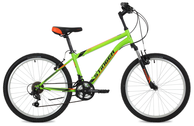 Велосипед Stinger Caiman 24 2018 велосипед stinger caiman 26 2016
