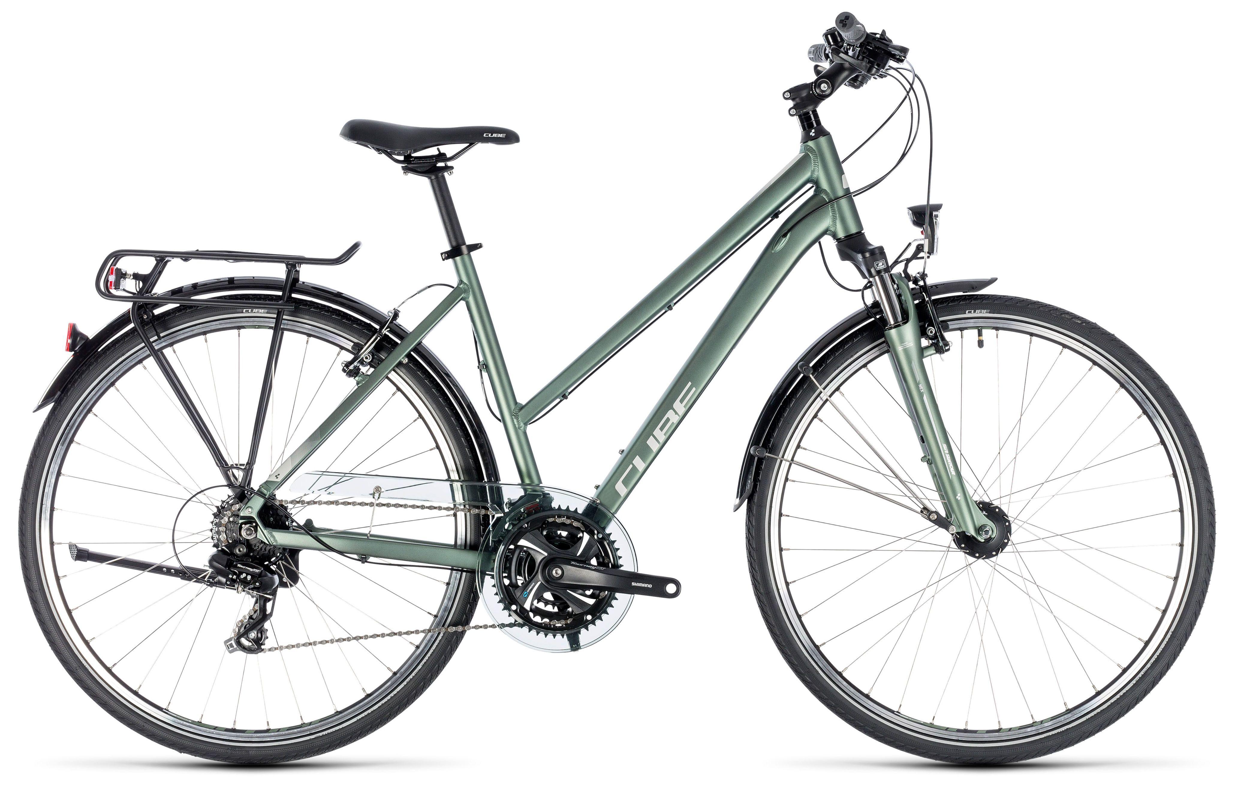 Велосипед Cube Touring Trapeze 2018 женский велосипед навигатор купить в пензе