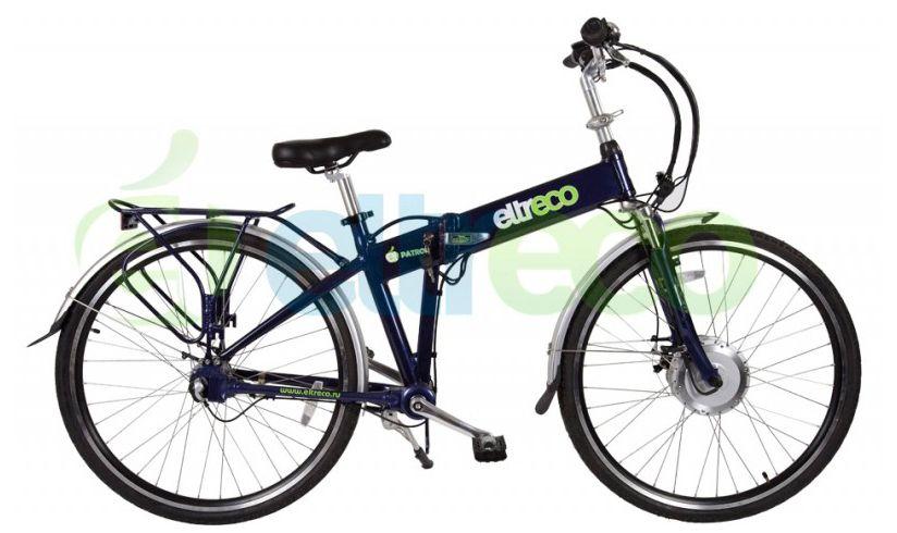 Велосипед Eltreco Patrol Кардан 28 2016,  Электро  - артикул:267897