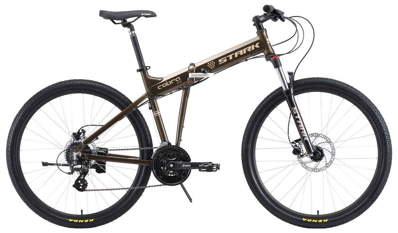 Велосипед Stark Cobra 27.3 HD 2018 велосипед stark shooter 4 2015
