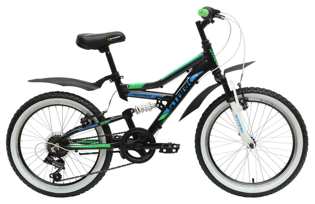 Велосипед StarkДетские<br>ВЕЛОСИПЕД STARK APPACHI 20 (2015) – безупречный подростковый байк, созданный специально чтобы любитель скорости мог совершенствовать свои навыки и оттачивать мастерство. Модель рассчитана на 6 скоростных режимов, имеет достаточно большие для подростковых байков колеса 20 дюймов и оснащена ободными тормозами. Рама выполнена из алюминиевого сплава, ободья также изготовлены из этого материала. За отличное сцепление с дорогой отвечают покрышки Wanda.Чтобы купить ВЕЛОСИПЕД APPACHI 20 (2015), оформите покупку на нашем сайте. Модель реализуется по демократичной цене, обладает 100% аутентичным качеством от изготовителя и отправляется в любой город РФ.<br><br>year: 2015<br>пол: мальчик<br>тип рамы: двухподвес<br>цепь: Taya TB50<br>система: Односоставная, 36T, хромомолибден<br>ободья: Алюминиевый сплав, двойные<br>передняя втулка: DC 36H<br>задняя втулка: DC 36H<br>передняя покрышка: Wanda, 20 х 2.125<br>задняя покрышка: Wanda, 20 х 2.125<br>кассета: Shimano MF-TZ20, 14-28T<br>манетки: Shimano SL-RS35<br>рама: Алюминиевый сплав 6061<br>вилка: Zoom<br>цвет: красный<br>материал рамы: алюминий<br>тип тормозов: ободной<br>диаметр колеса: 20<br>задний переключатель: Shimano Tourney RD-TY21<br>количество скоростей: 6