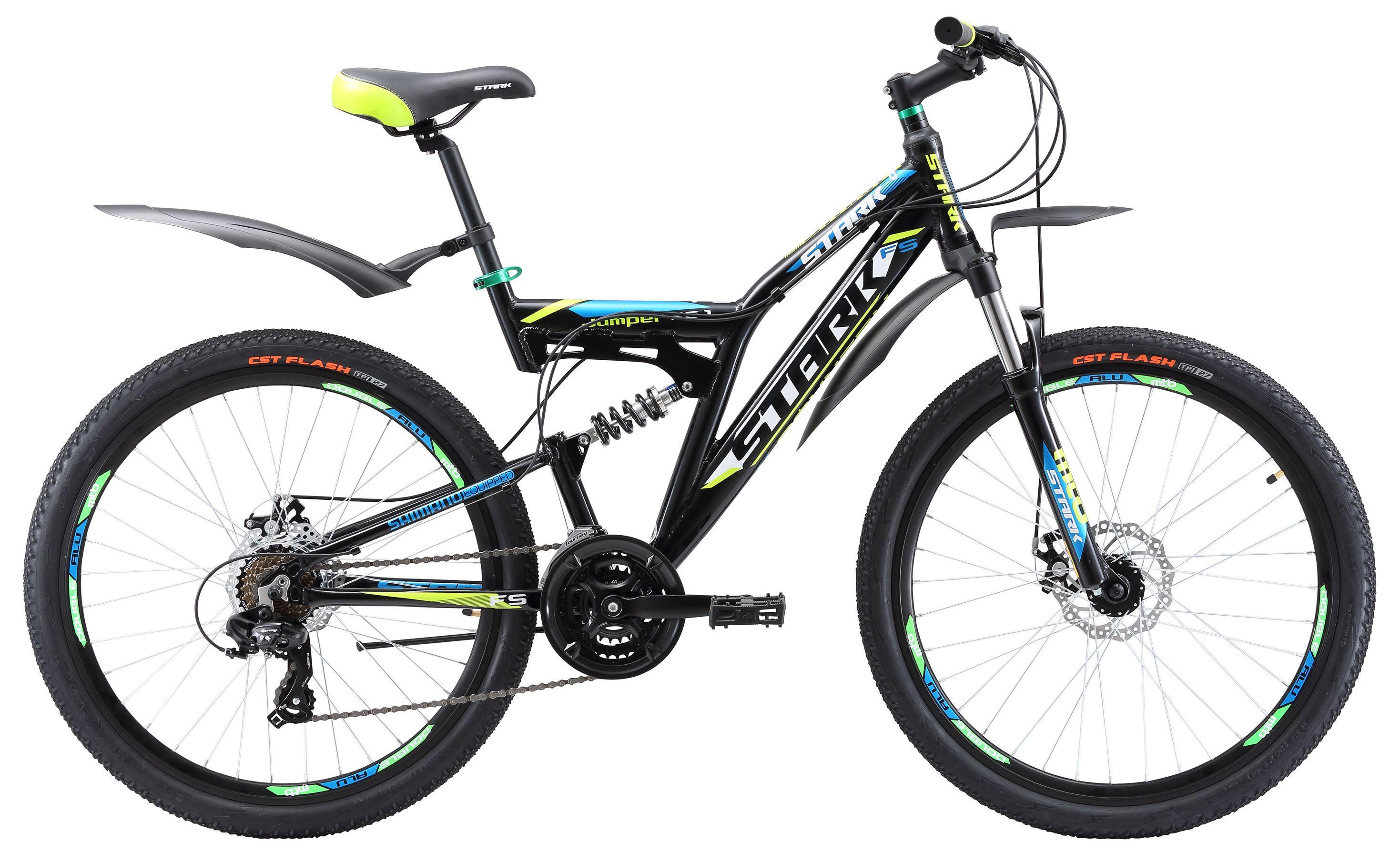 Велосипед Stark Jumper 26.1 FS D 2017