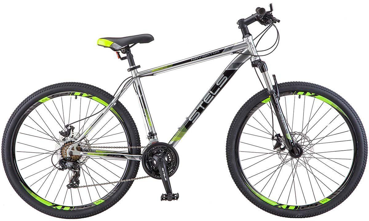 Велосипед Stels Navigator 700 MD 27.5 (V010) 2018 велосипед stels navigator 700 2016