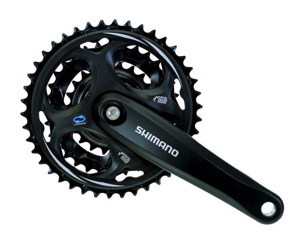 Запчасть Shimano Altus M311, 170 мм, 48/38/28T система велосипедная shimano altus 21 24скорости 48 38 28 175мм черная efcm311e888xl 2 932 1