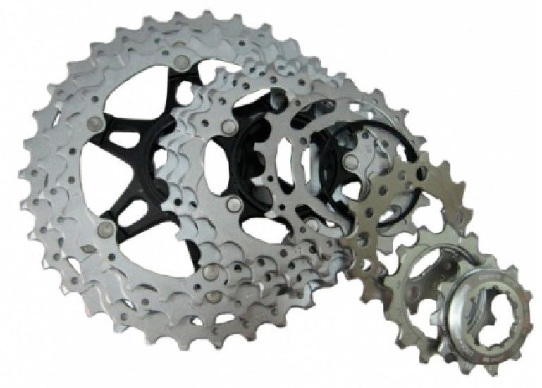 Запчасть Shimano для кассеты XT M771-10, (19-21-24T), BK shimano deore xt m771 silver 9s 27s speed mtb bicycle rear derailleur part long cage