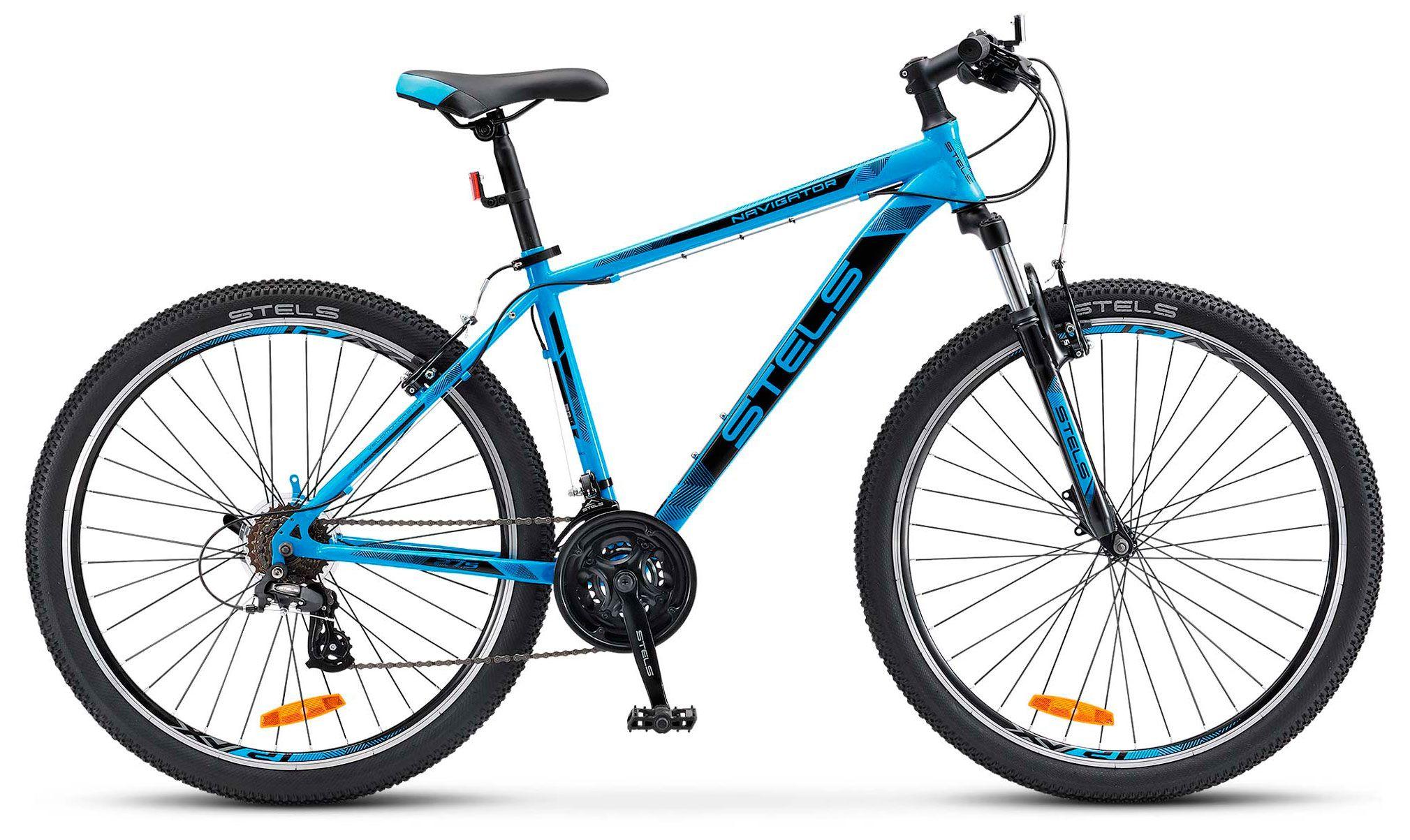 Велосипед Stels Navigator 500 V 27.5 (V020) 2018 велосипед stels navigator 600 v 26 v020 16 антрацитовый зелёный