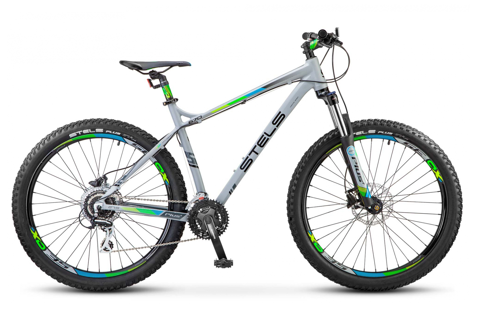 цена Велосипед Stels Navigator 670 D 27.5
