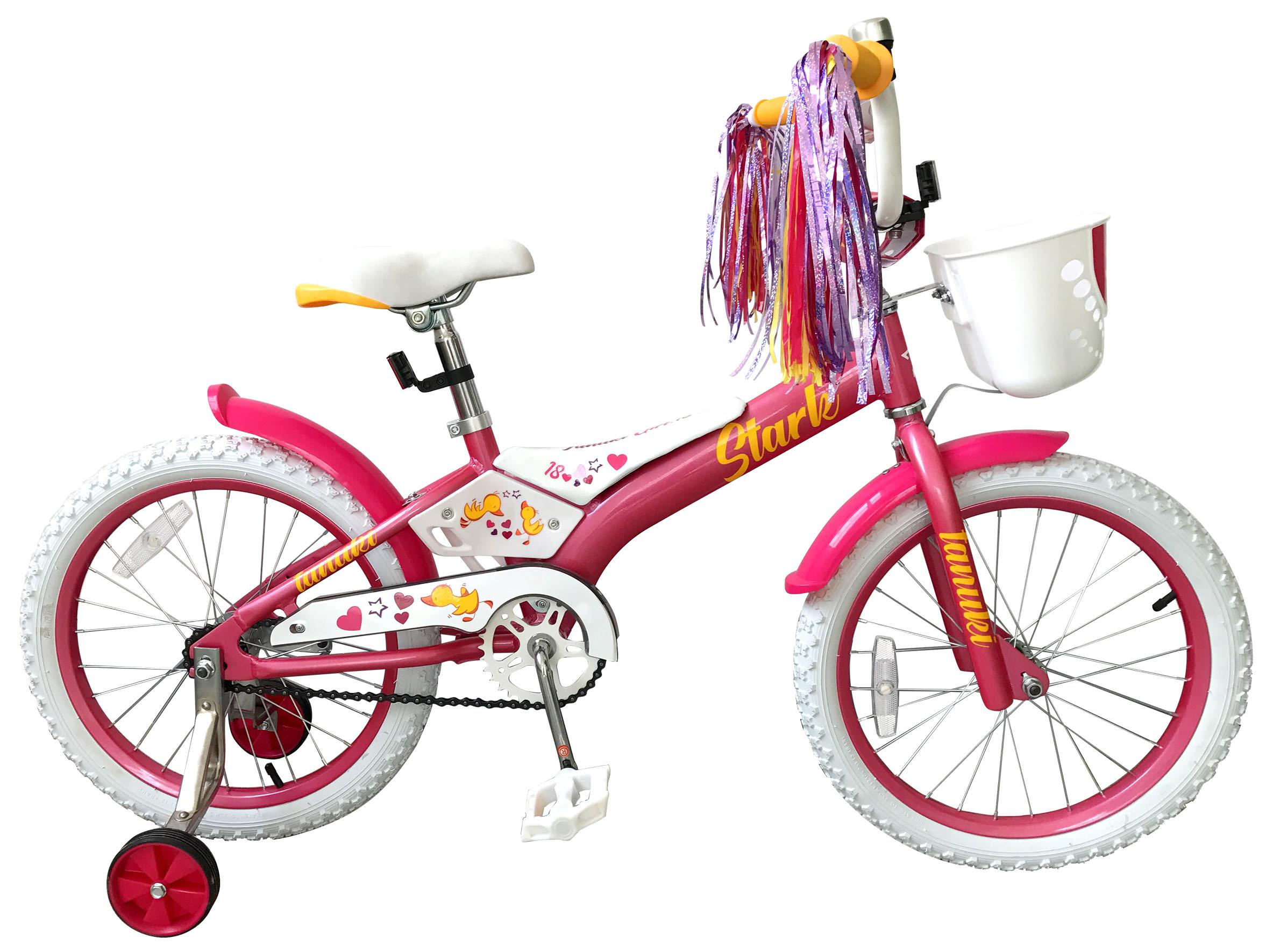 Велосипед Stark Tanuki 18 Girl 2019 велосипед stark outpost disc 2016 черно красный 18