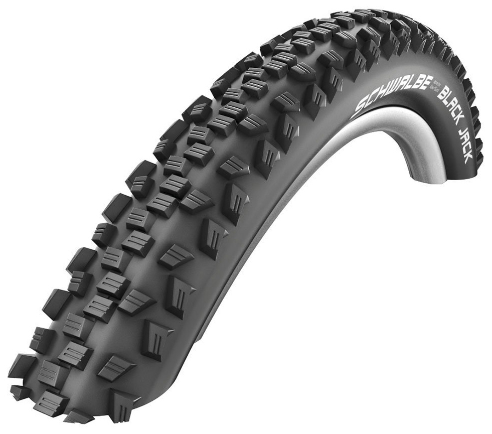 Запчасть Schwalbe BLACK JACK K-Guard 47-406, 20х1,9 B/B-SK HS407 SBC